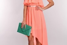 High-Low Lovin' / Latest Fashion Dresses with high front  and long back style.