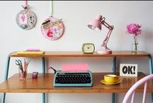 ESPACIOS PARA TRABAJAR / Inspiración para crear tu espacio de trabajo o el lugar creativo de la casa