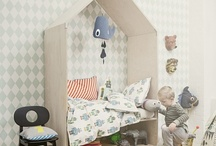 Kids rooms/ spaces / Great ideas for kids spaces.  / by Alex Miller