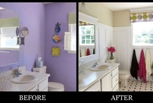 Before and After / I love before and after shots but I especially enjoy those that involve home decor and are both creative and low cost.