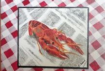 Crawfish Lovin' / ~  Dig in !!  ~ / by Claudia McGee