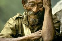 """Faces σƒ тнє Wσяℓ∂ / """"It's not what you look at that matters, it's what you see.""""   How far in Life you go depends only on you ~ being tender with the young, compassionate with the aged, sympathetic with the striving, and tolerant of the weak. Because someday in your life you will have been all of these .... / by Claudia McGee"""