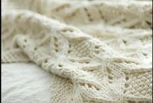 Knitting:  afghans and pillows / by Sharlene Immel