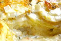 Potatoes, Rice, Quinoa