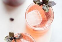 HAPPY HOUR / HEALTHY cocktails, drinking healthier, drink ideas, happy hour, healthy living, drink recipes, cocktail recipes, kombucha,