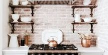 kitchen / Kitchen ideas, kitchen inspiration, my country kitchen, country style, kitchen diy, pretty kitchens