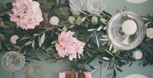 rustic romance / Wedding inspiration board for brides looking at a rustic romance theme