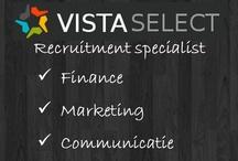 Recruitment / Vista Select - werving & selectie van professionals (HBO+) in finance, marketing, communicatie en sales