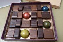 Chocolat / le chocolat sous toutes les formes : gâteaux, mousse, glace, chocolat à croquer et les chocolatiers que j'aime