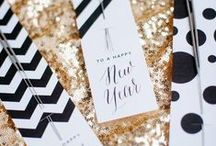 Seasonal Living: NYE <3 / New Year's Eve party ideas...because who doesn't want to host a party where its ok to throw tons of glitter around.