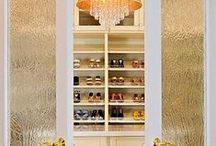 Home: Closets / Inspiring closets and dressing rooms for the home.
