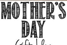 "Mother's Day / Anything I would love to do for, say to or remember about my mom and the other ""mom's"" in my life. / by Beth Genovich"