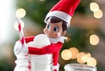 Elf on the Shelf Ideas / For the times when I just need at little more creativity for surprising my kids! / by Beth Genovich