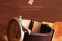 Relojes de Madera - Wooden Watches / Relojes Castor - Wooden Watches