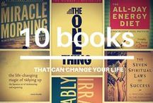 My Bookshelf / I love to learn. In part, it's how you grow. These are some of the most influential books I've read.