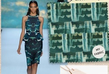 Seafoam - Pacific Greens / A collection of inspiration for our upcoming spring collection
