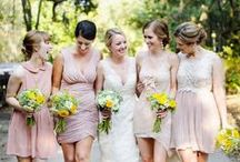 Bridesmaids Dresses / Amazing Bridesmaids Dress Ideas, Colors and Cuts