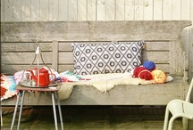 Outdoor spaces / outdoor flooring #deck / by Melika Mizany