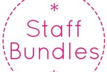 2013 Staff - Designed Custom Bundles / Our End of the Year Custom Bundles, exclusively created by our Fabricworm Staff. Enjoy!  / by Fabricworm