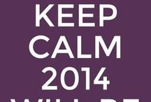 2014 thoughts for the year / Inspirational words for 2014