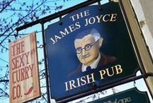 James Joyce Pub Prague / On 5th of November 1993 at 17:59 hrs., the first pint of draught Guinness poured in the Czech Republic, was poured at the James Joyce, Prague's first, oldest & still premier Irish Pub.