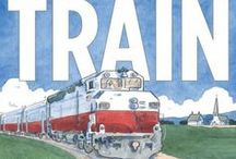 Cars & Trucks & Trains / A list of children's picture books