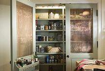 Pantry and Kitchen Storage