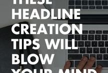 Copy + About + Etc / Resources and tips for writing seriously rad copy and promoting yourself and your products.