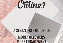 Get Noticed Online / Resources and ideas for getting your blog or business noticed online.