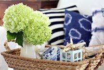Coastal & Cottage Style / Cottage Coastal Decorating and Design Inspiration