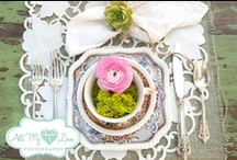 Wedding Table Decor / Shape the impression of your guests with your wedding table decor, whether you're going for rustic, country-chic, or anywhere in between. Here is plenty of inspiration to get you started.