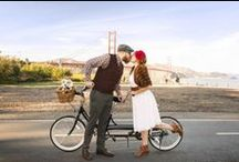 Engagement Photo Ideas / Fabulous engagement photo ideas. Perfect inspirational pictures for any current or soon-to-be engaged couples.  / by SnapKnot