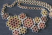 chain maille jewelry making / Master the art of combining jump rings in special weaves and patterns to create artistic chain maille jewelry designs with this collection of projects and tutorials.  / by Jewelry Making Daily