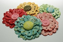 Fabric/ Paper Flowers- Make It / by Le Weath