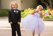Flower Girls + Ring Bearers Photos / A collection of some of the most adorable flower girls and ring bearer photos we've seen.