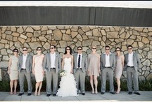 Wedding Party Photos / Here are some of our very favorite wedding party photos. With different color themes and styles, there is something for every group!