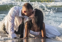 "Trash the Dress Inspiration / ""Fearless Bridal"", ""Trash the Dress"", ""Encore Session"" or ""Rock the Dress""- call it what you want, there are some brides who just want to have fun with the most expensive dress they will likely ever own. Get ideas for your trash the dress photo shoot!"