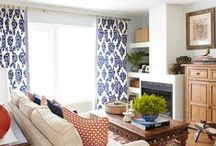 Window Treatments / Beautiful curtains, drapes, and blinds / by krista@thehappyhousie