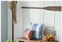*Home - Paneling   / I love all kinds of paneling and this is full of all kinds of inspiration  / by krista@thehappyhousie