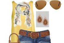 *Fashion for Summer / Looks I love for the warmest time of the year / by krista@thehappyhousie