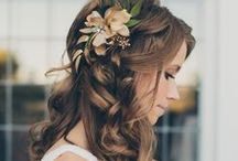Wedding Hairstyles / Be inspired by these beautiful wedding hairstyles and ideas