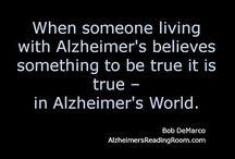 Brighter side: Alzheimer's & dementia / Finding strength when dealing with dementia