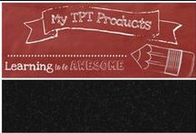 My TPT products