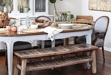Dining Rooms / Design and Decor Inspiration for the Dining Room / by krista@thehappyhousie