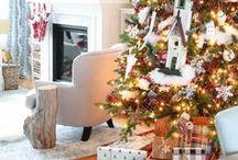 The Happy Housie - Christmas & Holiday / Christmas Style, coastal christmas style, christmas at the lakehouse
