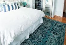 Master Bedroom Makeover Inspiration and Plans / Master bedroom ideas, coastal decorating, blue and white decor ideas in the bedroom