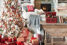 Christmas Style Series: Cabin-Chic Christmas / cabin style christmas, christmas at the lodge, ski theme christmas, winter ideas