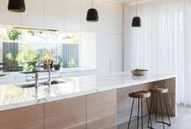 Kitchen / I love kitchen design. This is my collection of beautiful kitchen ideas, colours and design.