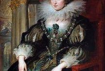 17th century: Women's fashion