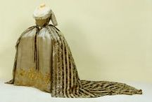 18th century: Russian court gowns